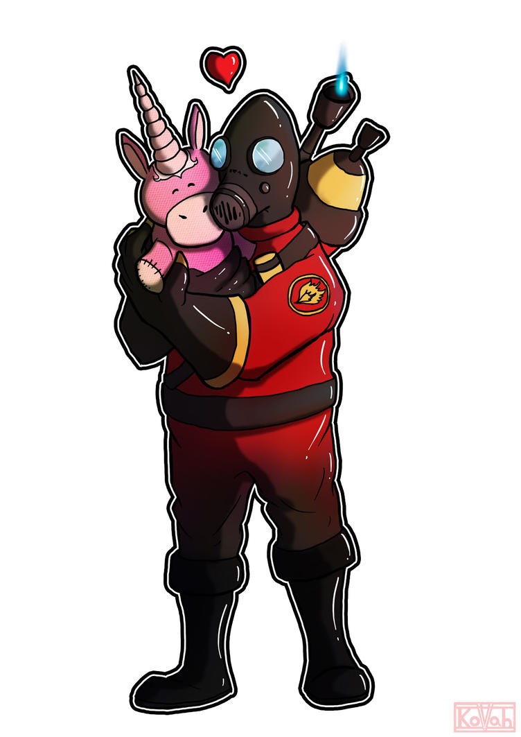 Pyro Hugs by kovah