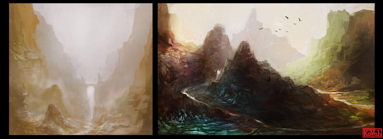 Mountain Paths by kovah