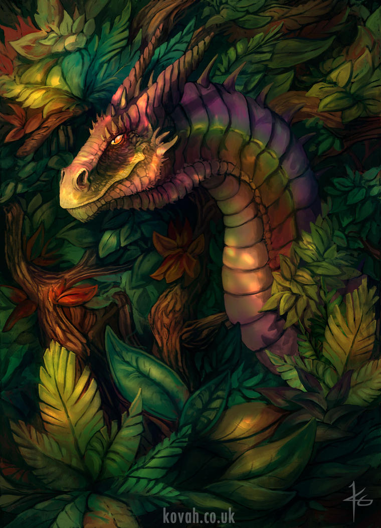 Jungle Dragon by kovah