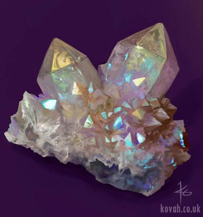 Crystal Study by kovah