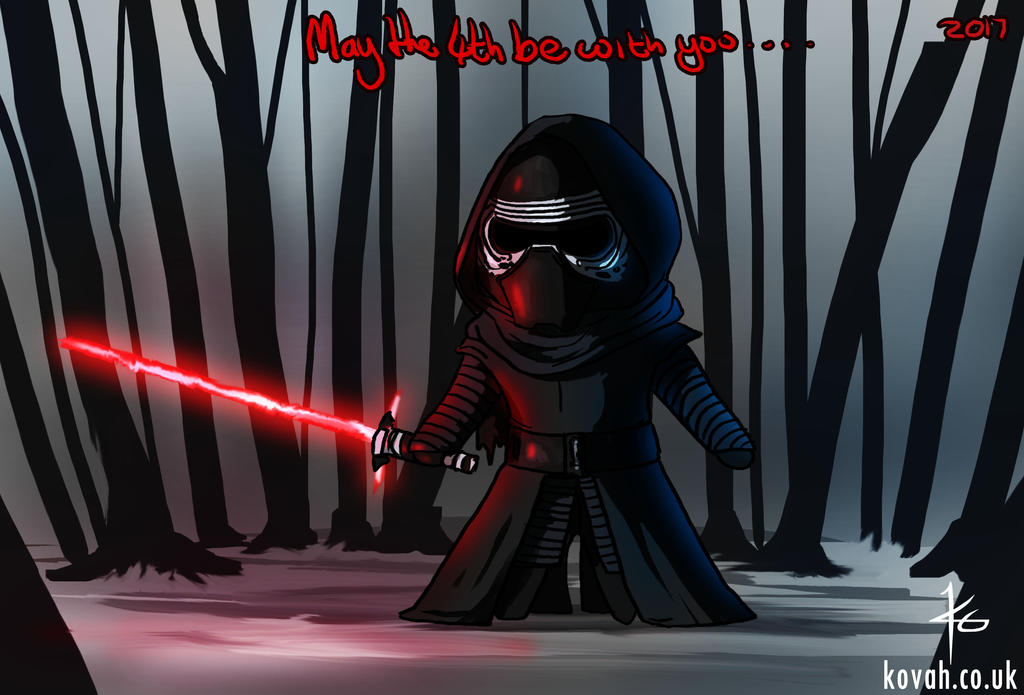 May the 4th be with you by kovah