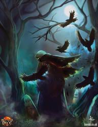 Ravens Stole by kovah