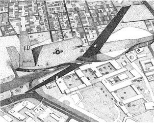 Global Hawk over Baghdad by gbraden