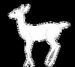 Free Deer Lineart