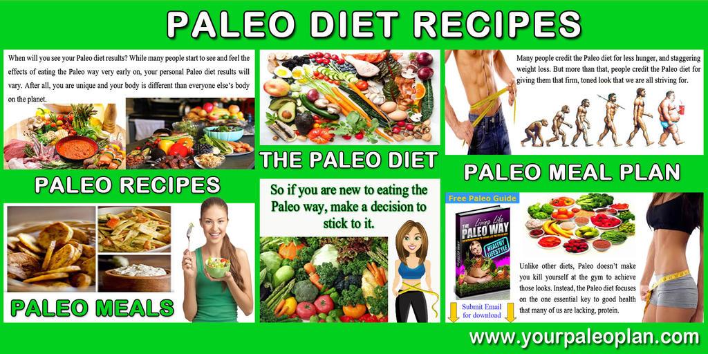 Paleo Meal Plan by paleodietrecipes