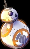 [Fanart] Star Wars TFA BB-8 by Cootsik