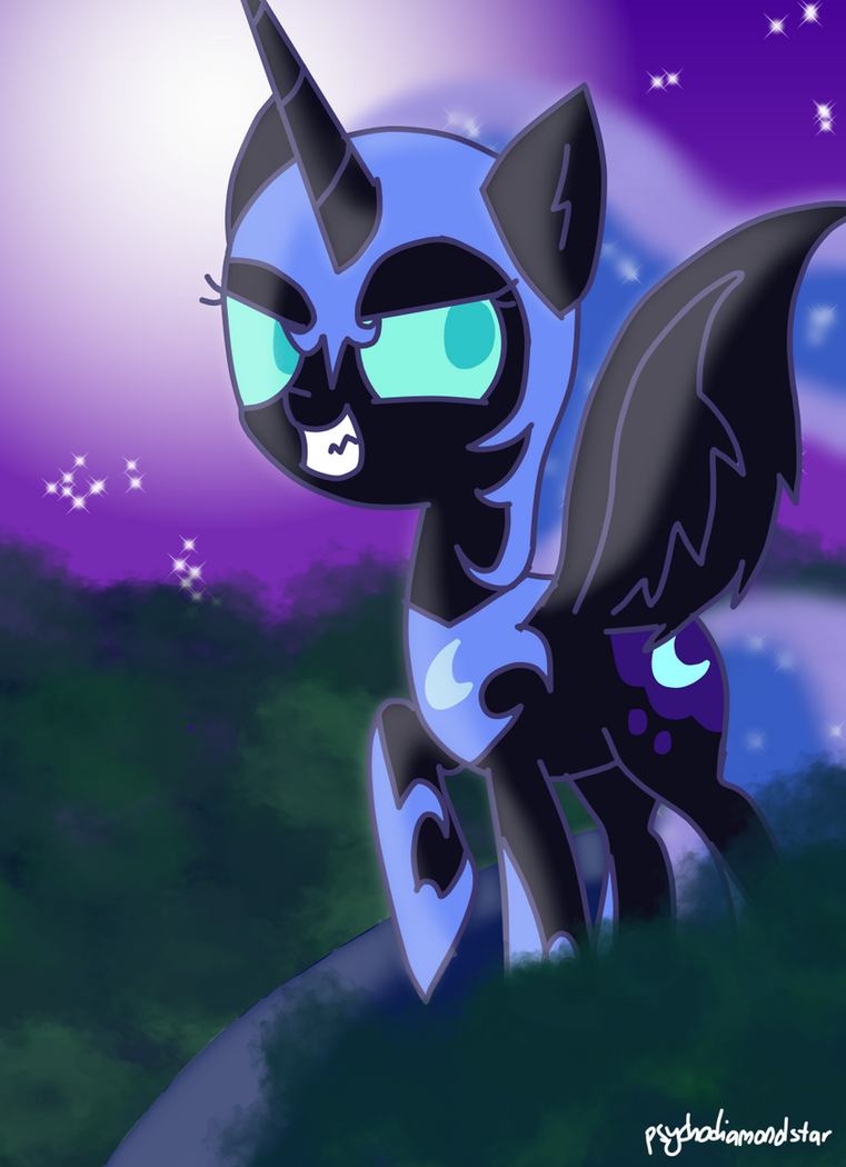 The Night Shall Last For Eternity! .:CE:. by psychodiamondstar