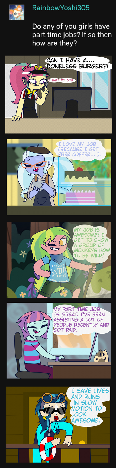 Shadowblog 38- Part-time job by psychodiamondstar