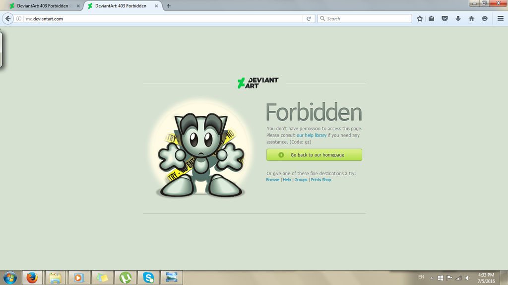 I Keep Getting 403 Forbidden Error (Solved) by revpeng on