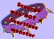 Scourge was not a heartless monster