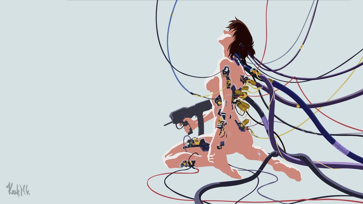 Motoko Kusanagi - Ghost in the Shell by TheKorNk