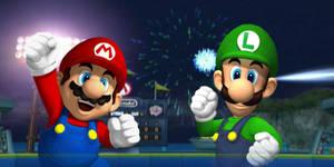 My Mario and Luigi Wallpaper