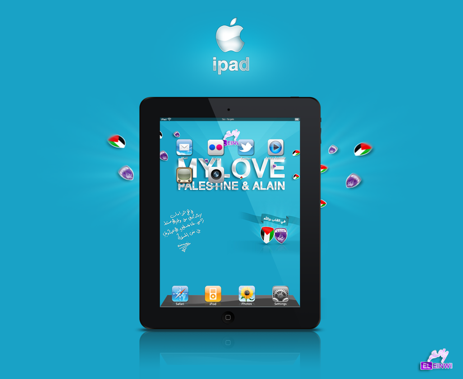 ipad psd by einwi on deviantART
