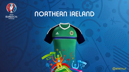 Northern lreland Kits #EURO2016 by einwi