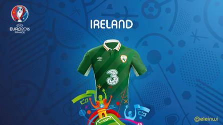 Ireland Kits #EURO2016 by einwi