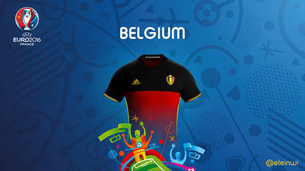 Belgium Kits #EURO2016 by einwi