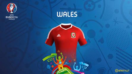Wales Kits #EURO2016 by einwi