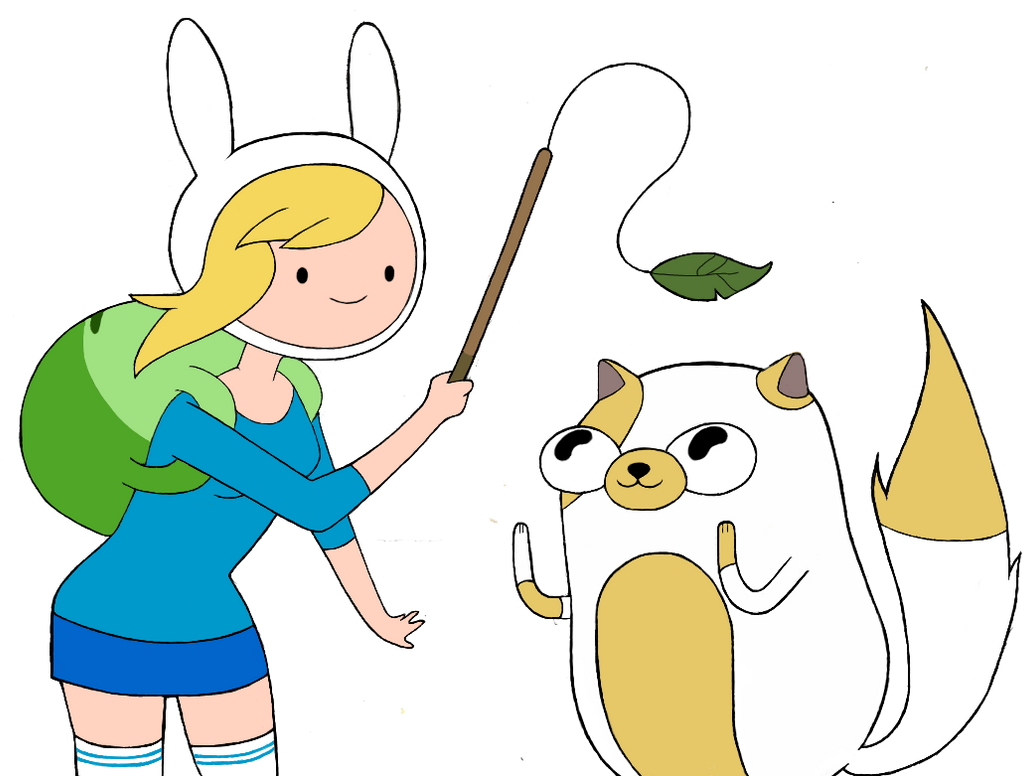 fionna and cake by artlily on deviantart