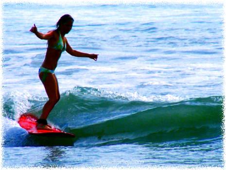 Longboard girls rule...