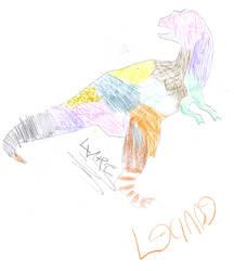 Dinosaur by princess-bijou