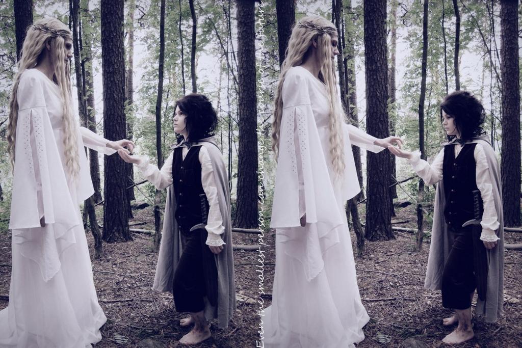 Frodo and Galadriel by Miu-I-N