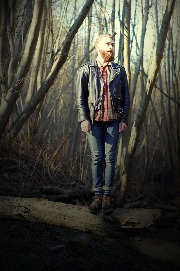 Hipster from forest II by Nagvali