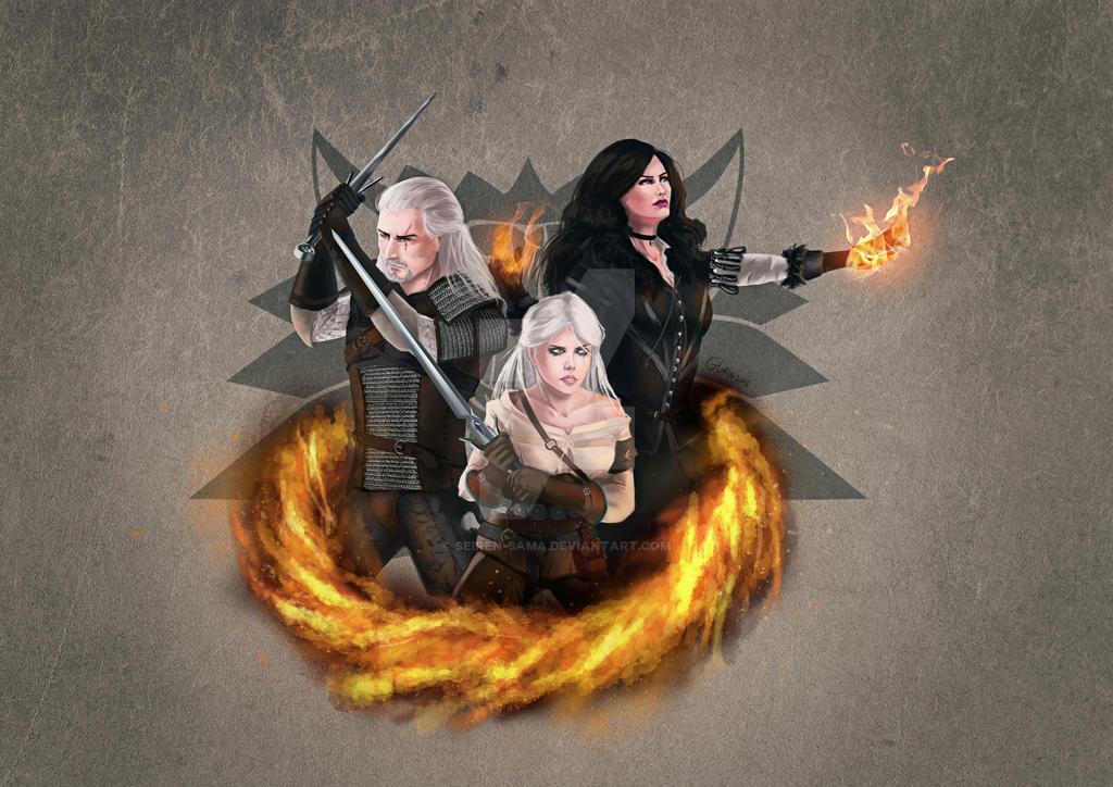 Witcher 3 Fan-Art By Seiren-sama On DeviantArt