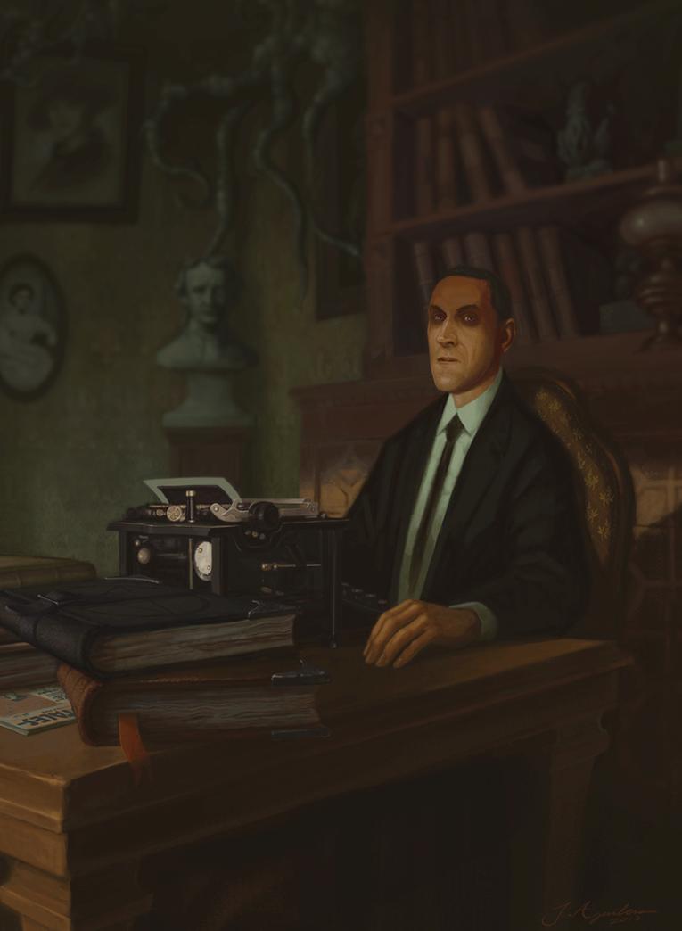 Lovecraft Portrait by J-Aguilera-1