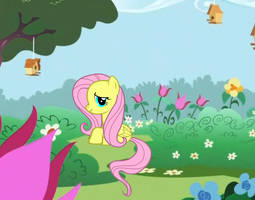My Little Fluttershy by Silvia1826