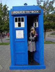 I Stole the Tardis. :3 by Silvia1826