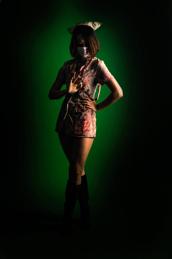 Silent Hill Nurse Inspired Cosplay by lifeofelle
