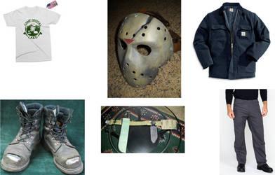 Jason Voorhees Post-Hockey Mask (CLC)