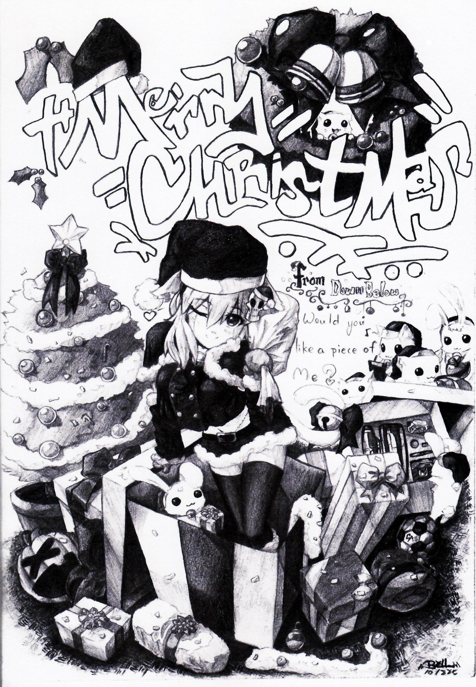 Merry X'mas from down below by ErMaoWu