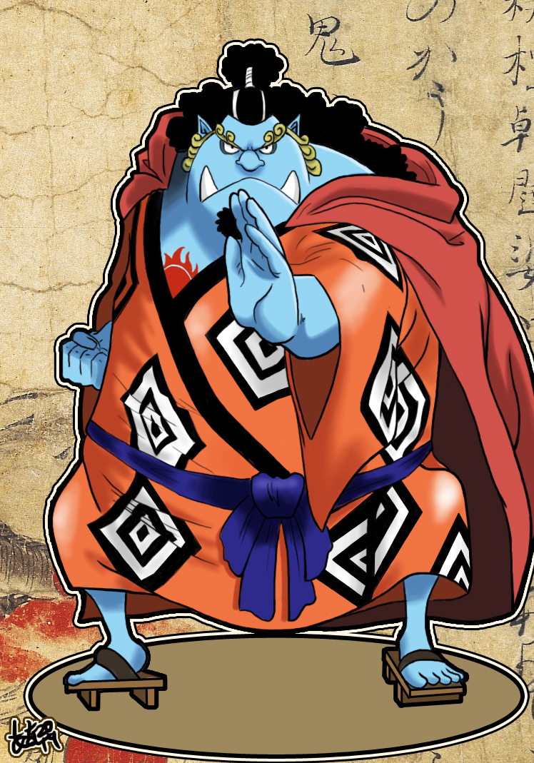 Jimbei, le paladin des mers Jinbei_from_one_piece_by_nanahollow-d7r7etf