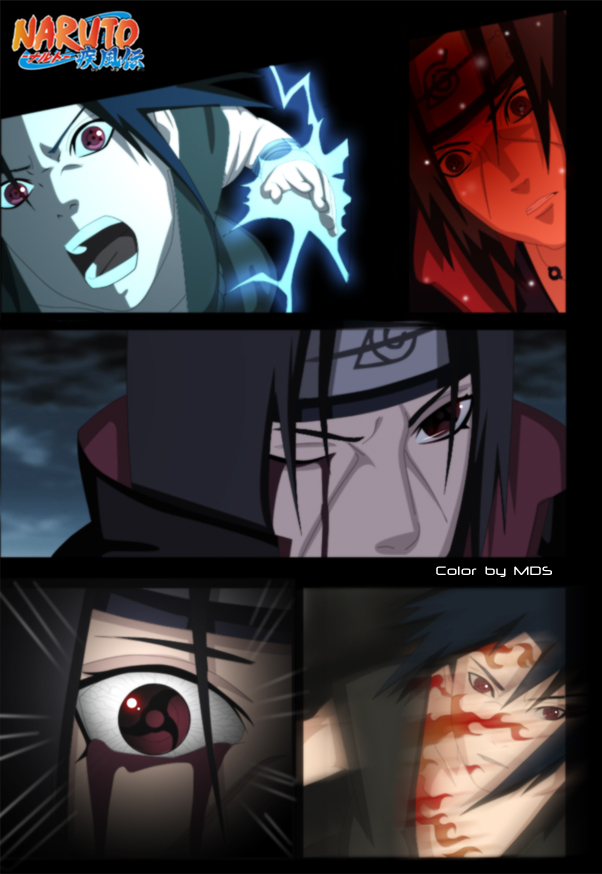Sasuke vs Itachi by Madnesssss on DeviantArt