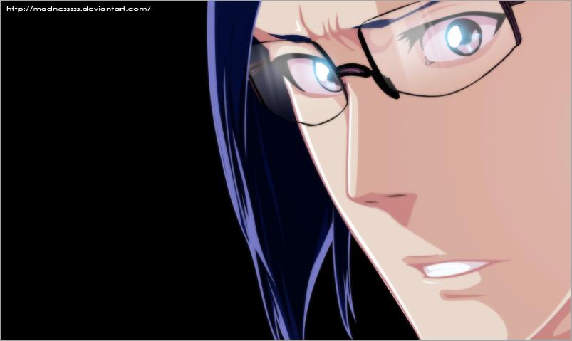Ishida Uryuu by Madnesssss