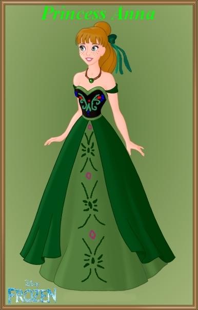 Au secours la reine des neiges est de retour couleurs coton - Anna princesse des neiges ...