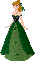 Princess Anna PNG by Astrogirl500