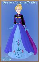 Queen of Arendelle Elsa by Astrogirl500