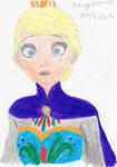 Queen Elsa drawing