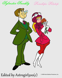 Picture of Penelope Pitstop and Sylvester Sneekly
