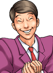 Phoenix Wright redited character ~ Florian Sahwit by Astrogirl500