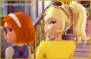 Chloe and Sabrina {Nose and ear edit} by Astrogirl500