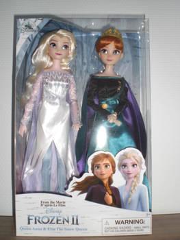 Classic dolls Frozen 2 ~ Reines Elsa et Anna
