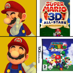 Super Mario 64 Remakes ~ Drake Mario Meme
