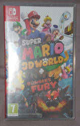 Jeu Super Mario 3D World + Bowser's Fury {SWITCH} by Astrogirl500