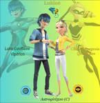 Lukloe fan art ~ Miraculous edit by Astrogirl500