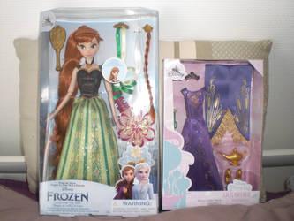 Classic doll Frozen ~ Anna et Ensemble de Jasmine