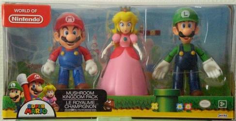 Collection Mario ~ Mario,Princesse Peach et Luigi