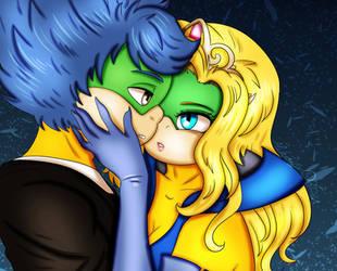 Ludwig von Koopa and Clarissa de la Coquille {RQ} by Astrogirl500